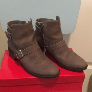 Cole Haan Taupe Ankle Booties Size 7B